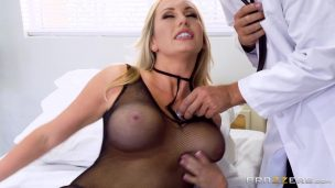 Huge Tits Stuck In The Woman